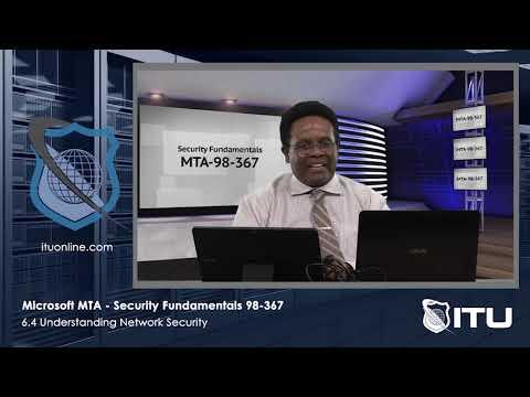 Microsoft MTA 98 367 Security Fundamentals - Lesson 6.4 ...