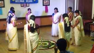 Mullingar Onam 2013: Thiruvathira HD