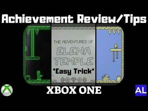 The Adventures of Elena Temple (Xbox One) Achievement Review/Tips - Easy Trick