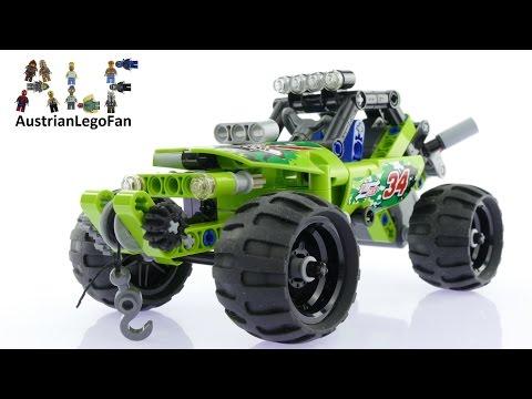 Vidéo LEGO Technic 42027 : Le buggy du désert