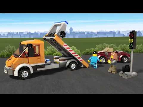 Vidéo LEGO City 60017 : La dépanneuse