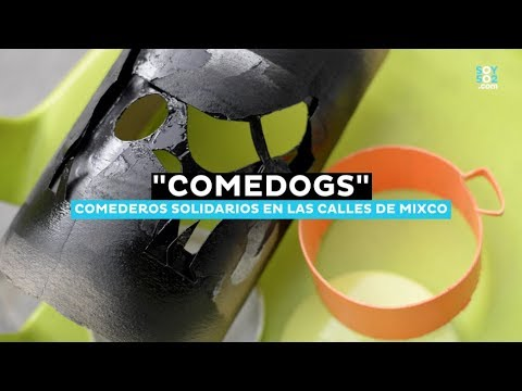 """""""ComeDogs"""": comederos solidarios en las calles de Mixco"""