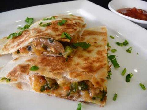 Video Vegetable Quesadilla Recipe