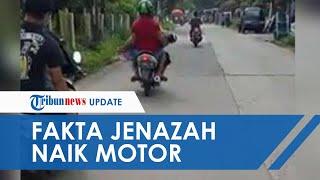 Viral Jenazah Dibonceng Menggunakan Motor di Bogor, Sempat akan Diangkut Angkot tapi Sopir Kabur