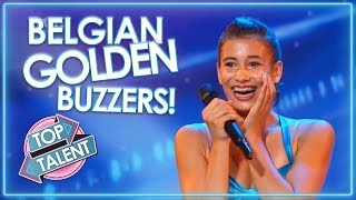 Belgium's Best GOLDEN BUZZERS! | Top Talent