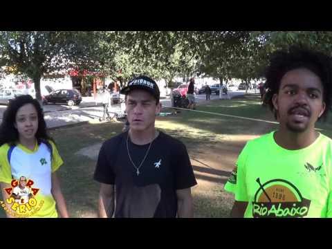 1º Festival de Slackline de Juquitiba para divulgar a pratica do esporte