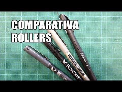 COMPARATIVA ROLLERS TINTA LIQUIDA