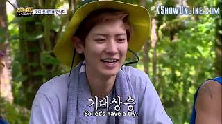 law of the jungle chanyeol sub indo - TH-Clip