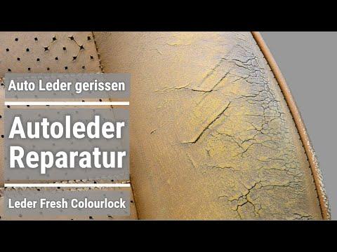 Einfach selber Autoleder aufbereiten und reparieren mit Leder Fresh Porsche 911 sc