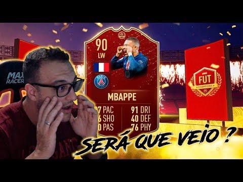 Recompensa WL Elite 3, Será que veio Mbappe? - FIFA 20