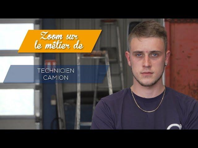 Le métier de technicien véhicule industriel