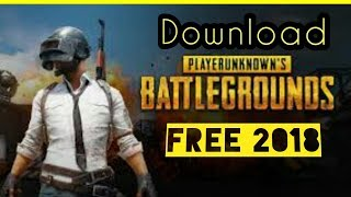 PUBG- Free Download for PC