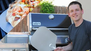 BBQ Pizza On Gas Grill   Grilled Pizza Tips
