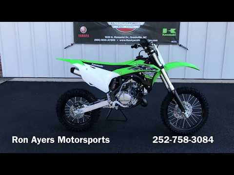 2019 Kawasaki KX 85 in Greenville, North Carolina - Video 1