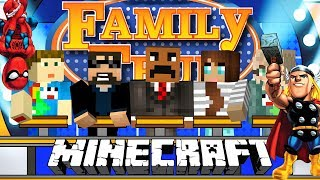 Minecraft: FAMILY FEUD #3 | SUPERHEROES EDITION!!
