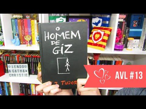 Viajei com: O Homem de Giz - C. J. Tudor - AVL#13
