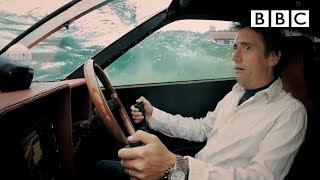 James Bond style Lotus drives underwater | Top Gear - BBC