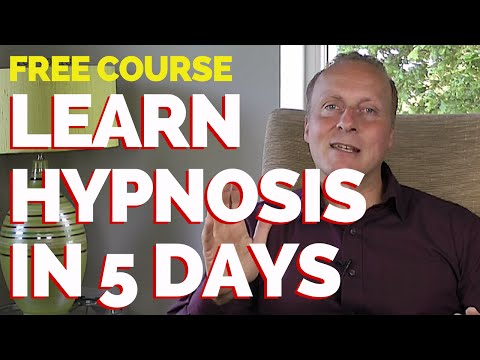 Learn Hypnosis in 5 days - FREE couse - learn to communicate with ...