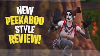 New Peekaboo Style Combos   Fortnite Skin Review
