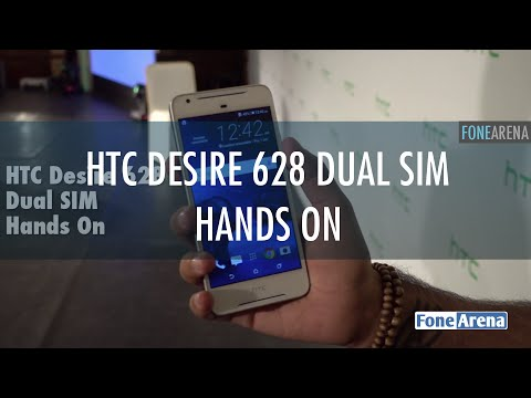 HTC desire 628 Dual SIM Hands On