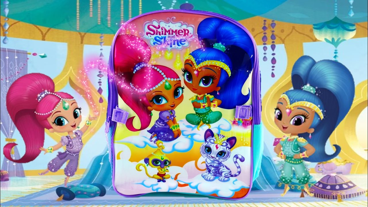 Shimmer and Shine Toys Backpack Surprise Episode  | Evies Toy House