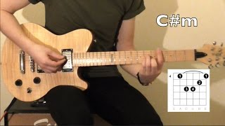 How to play I'm Happy Just To Dance With You on guitar - The Beatles