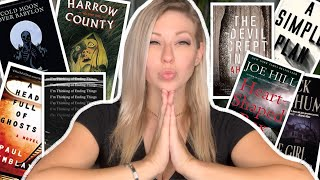 What I Read In JULY  | 8 Horror / Thriller Novel Recommendations 😱 | Reading Wrap Up 2020