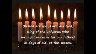 Chanukah Blessing Second Blessing Recitation (No Audio)