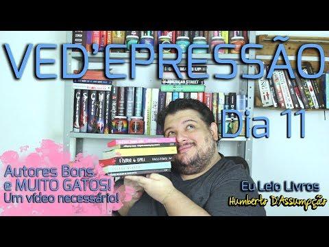 VEDA #11 - Book Talk #04 Autores Gatos - Eu Leio Livros