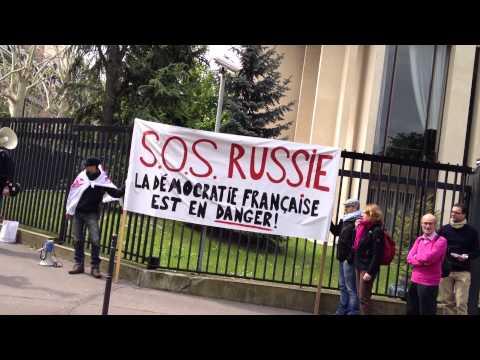 Французы просят Путина защитить у них демократию
