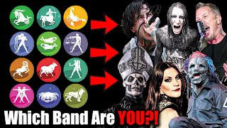 Which Metal Band Are You Based On Your Zodiac Sign?