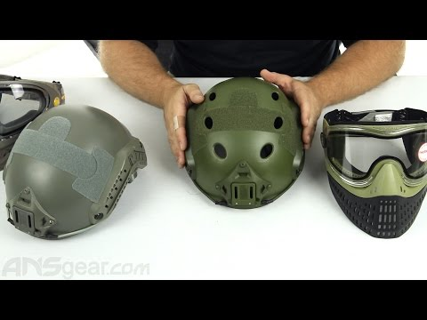Bravo Airsoft PJ and MH Helmets – Review