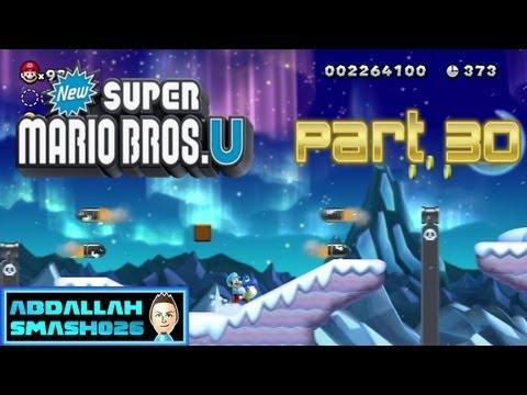 New Super Mario Bros U: Infinite Lives - Frosted Glacier 4: \
