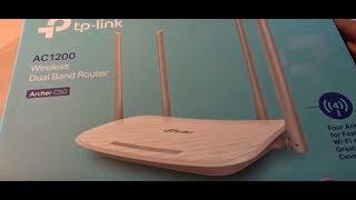 TP Link AC1200 Archer C50 v3 WLAN Router (ausgepackt und eingerichtet) deutsch