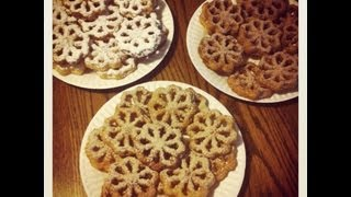 Chicago Johnny's Natural Rosette Cookie Recipe (Scandanavian cookie fried in lard)