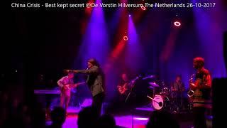 China Crisis   Best kept secret De Vorstin Hilversum 26 10 2017