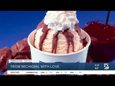 Jerky and ice cream From Michigan, With Love