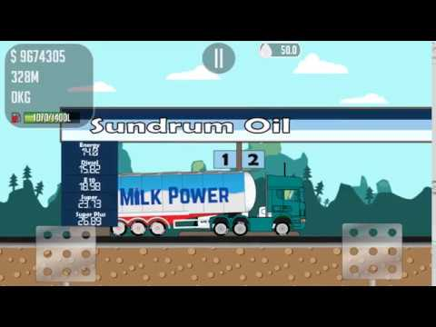 Trucker Joe transports milk for the production of packaged milk