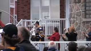 preview picture of video 'Michaël Bournival show Memorial Cup 2012 to his family in Shawinigan'