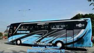 Konvoi 23 Bus Dari Terminal Kudus Jamnas BMC VI, Jepara