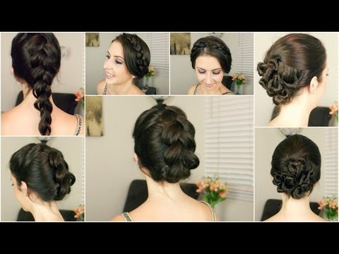 Quick Easy Hairstyles For Wet Hair By Amanda Borak Musely
