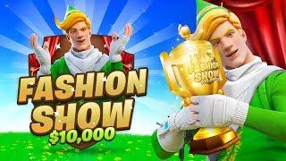$10,000 Fortnite Fashion Show FINALS! *LIVE*