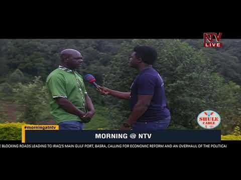 ON THE GROUND: Heavy rains block the Kisoro - Bwindi road