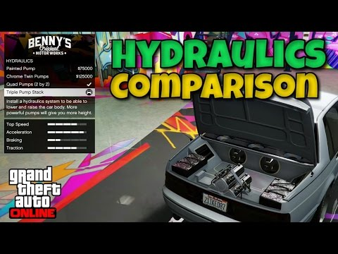 GTA 5 - Lowrider DLC: Hydraulics Comparison - Which Are Best?