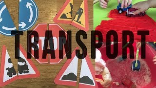 TRANSPORT ACTIVITY TOPIC - CHILDMINDING PLANNING - IN HOME CHILDCARE PAPERWORK - EYFS TOPIC
