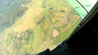 preview picture of video 'Прыжки с парашютом в Белоканах / Skydiving in Balakan'