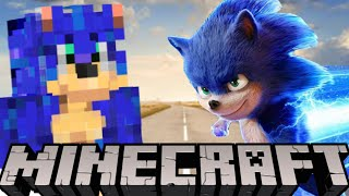 Sonic The Hedgehog Movie Trailer But It's In Minecraft