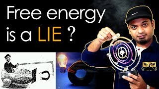 Perpetual Motion Machine in Tamil | Free energy is possible or not? | Mr.GK
