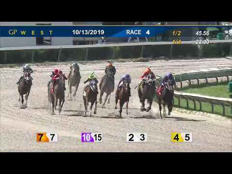 Gulfstream Park West October 13, 2019 Race 4