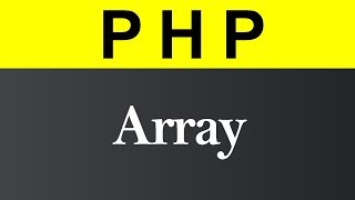 Array and Its Type in PHP (Hindi)